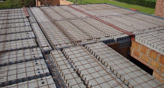 Betonnen dekplaat ruwbouwwerken gelijkvloers verdieping - Steen en constructie ...